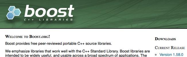 【C++】Mac に Boost を インストールした