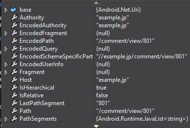 【Xamain .Android】 【C#】 外部アプリから, 自アプリの カスタムURL Scheme で起動させて引数を受け取る