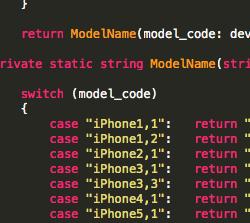 【Xamarin .iOS】ユーザの環境を得る【OS,端末モデル名,アプリのバージョン】