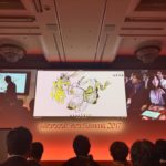 Microsoft Tech Summit 2017 の基調講演(キーノート)で、1000人の前で Whiteboard on Surface の絵描きデモをした&それがAIで自動着彩された #mstsJP17